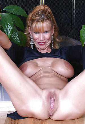 Naked grown-up hairy vaginas