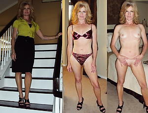 Substandard women before and after