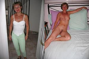Nude wife before and after