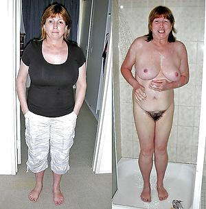 Free mature lady before and after