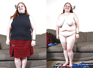 Amazing mature lady before and after untrained pics