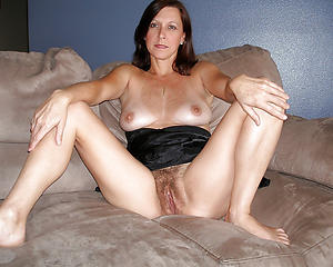 Nude hairy cunt mature