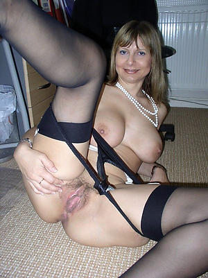 Busty private mature coition