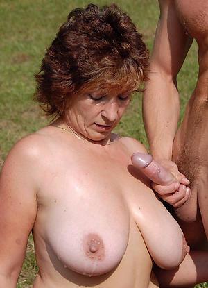 Naked mature blowjob cumshot photos