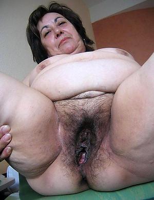 Nude unshaved mature women