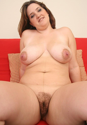 Naked curvy take charge mature