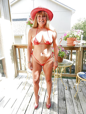 Naked matures in bikinis
