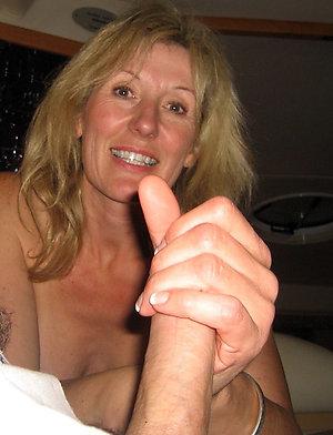Pics of mature blonde masturbating