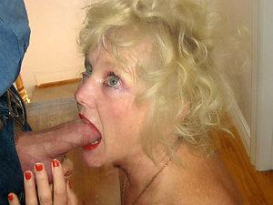 Homemade mature blowjob porn