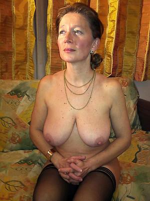 Inexperienced classic mature women