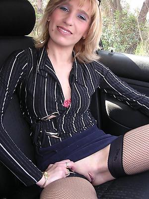 Overt mature in car photos