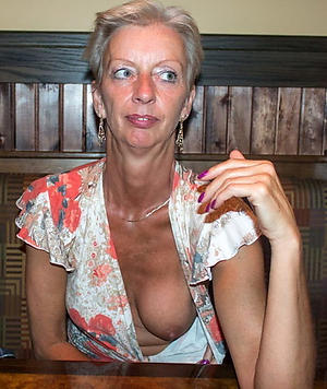 White mature wife