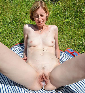 Slutty mature creampie pussy nude pics