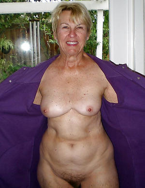 Best grandmother in one's birthday suit photos