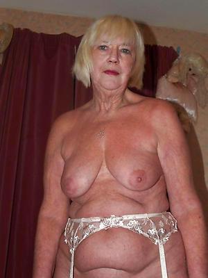 Adult older unembellished women