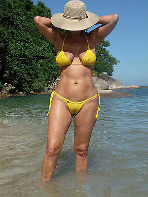 Favorite mature women in bikinis naked photo
