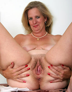 Blistering mature hairy galleries