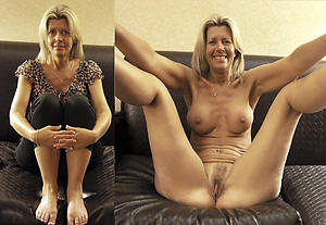 Mature Dressed Undressed