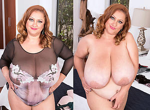 Nude mature dressed undressed