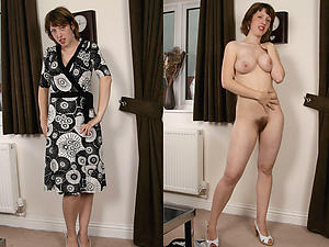 Favorite mature dressed undressed