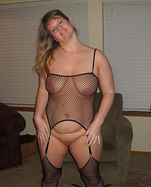 Elegant cougar milf adult undressed photo