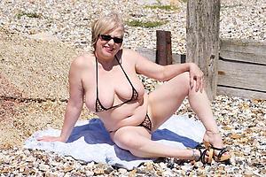 Slutty grown-up bikini moms