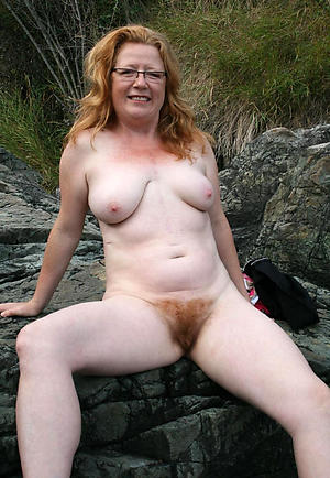 Mature unshaved pussies
