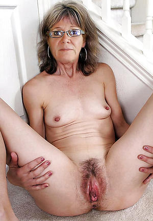 Naked unshaved mature women