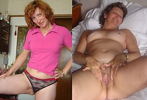 Slutty mature before and after nude pics