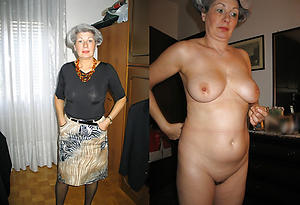 Sexy mature before and check tick off