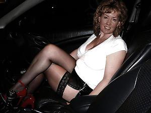 Amateur mature car porn