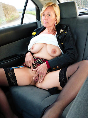 Amazing nude mature in car galleries