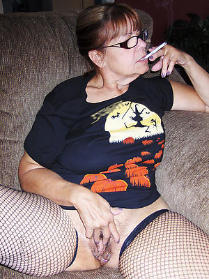 Mature women in glasses