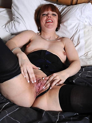 Fagged mature shaved pussy nude pictures
