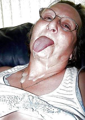 Pretty mature facial cumshot nude pics