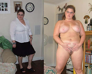 Naked dressed and undressed matures