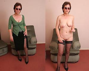 Favorite mature dressed undressed pictures