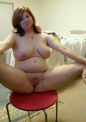 Curvy 40 year old mature