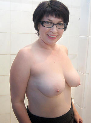 Wet pussy mature women in glasses