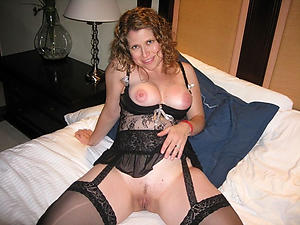 Naughty naked mature previously to girlfriend