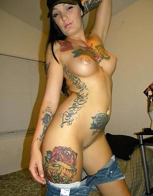 Hot porn of tattoed women