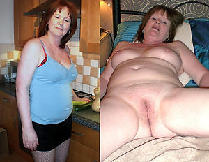 Amateur pics of grown-up before and after