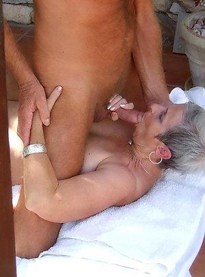 Best pics of older women love blowjobs