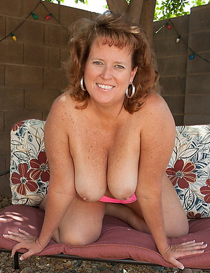 Handsome naked chubby moms