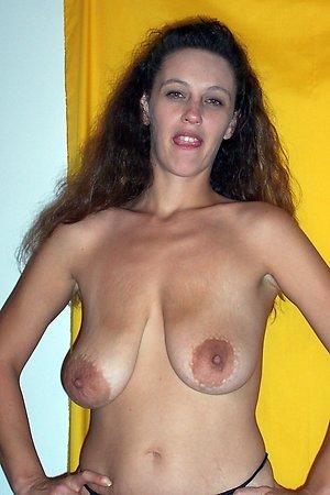 Slutty hot naked brunette old women