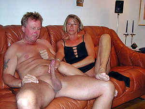 Inexperienced older naked couples