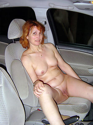 Sexy mature women in car pussy pics