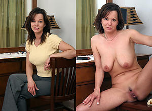 Hottest matures women dressed and undressed