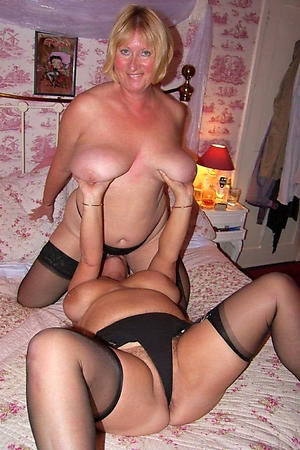 Undisguised amateur mature lesbians porn pics