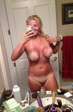 Unquestionably naked mature selfies downcast photos